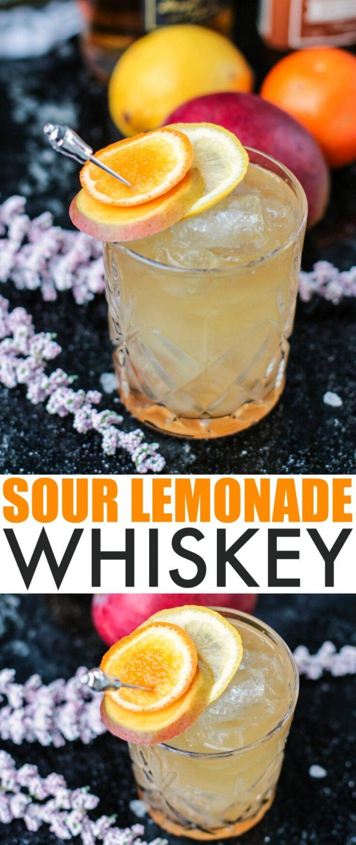 Sour Lemonade Whiskey