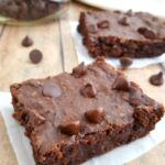 Vegan Double Chocolate Black Bean Brownies