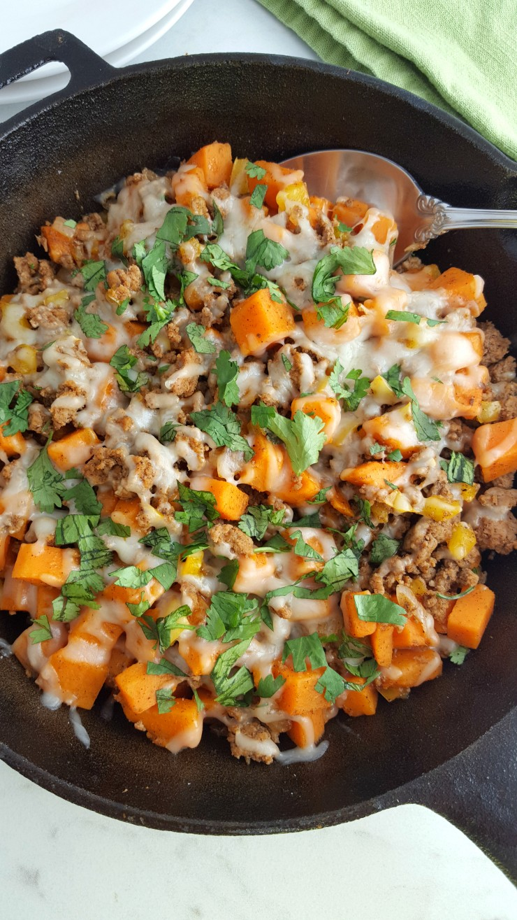 Ground Turkey Sweet Potato Skillet Life Love Liz