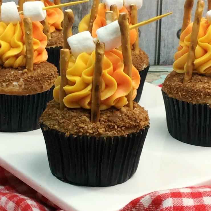 Camp Fire Cupcakes Life Love Liz