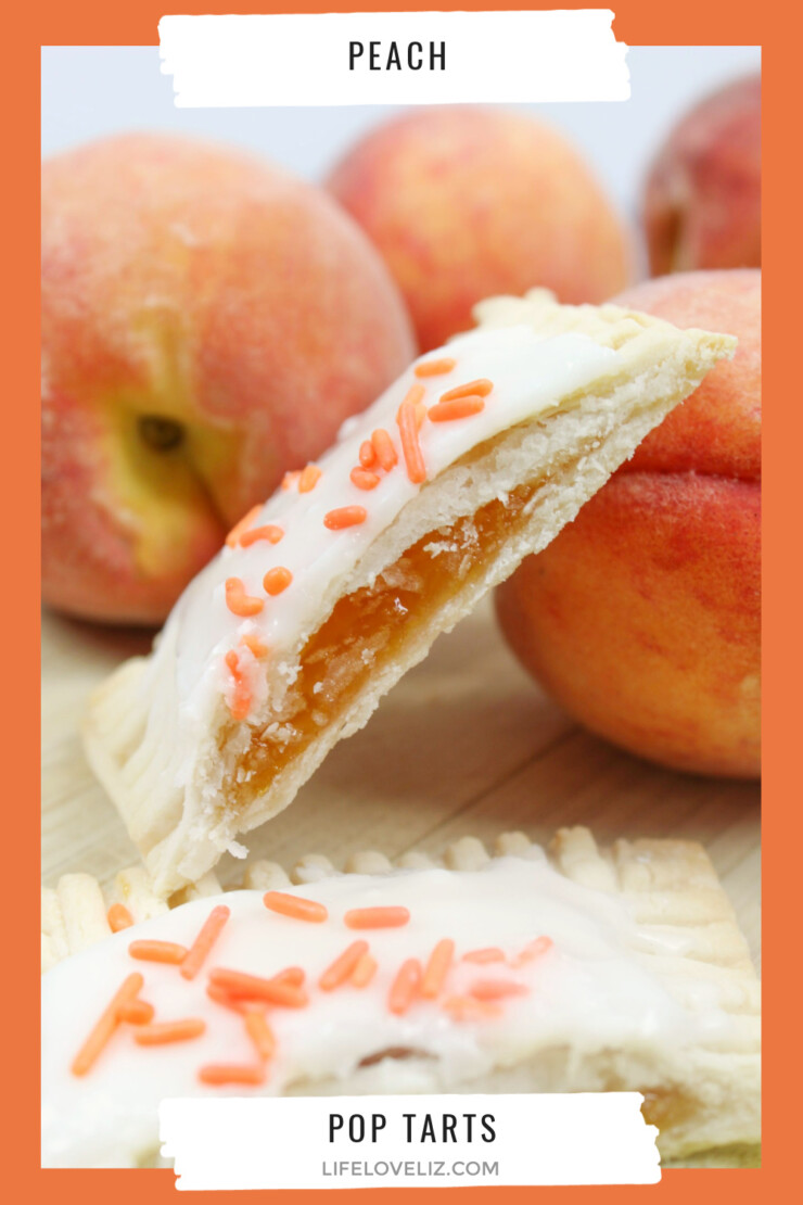 These Peach Pop Tarts are a treat your whole family will enjoy for breakfast or dessert. Little hand pies filled with peach preserves and topped with icing - they are a taste of summer you can enjoy all year long for a special treat!