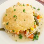 Gluten Free Chicken Pot Pie Casserole