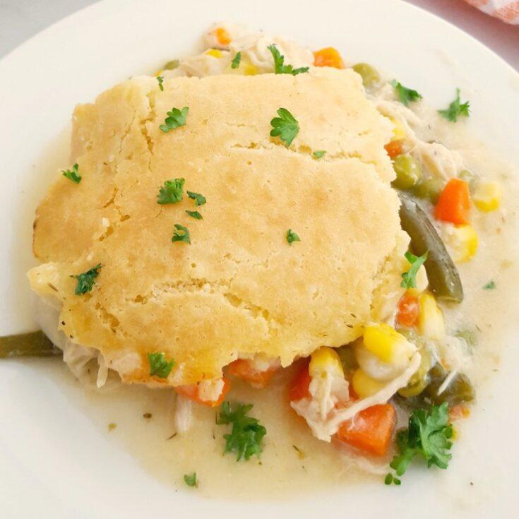 Gluten Free Chicken Pot Pie Casserole