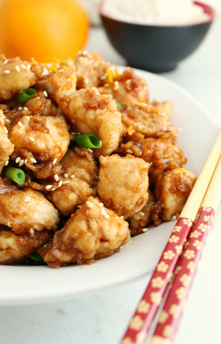 This Gluten Free Orange Chicken recipe is super easy and results in a delicious Panda Express Copycat meal. This is sure to be a family favourite that can be enjoyed by all!