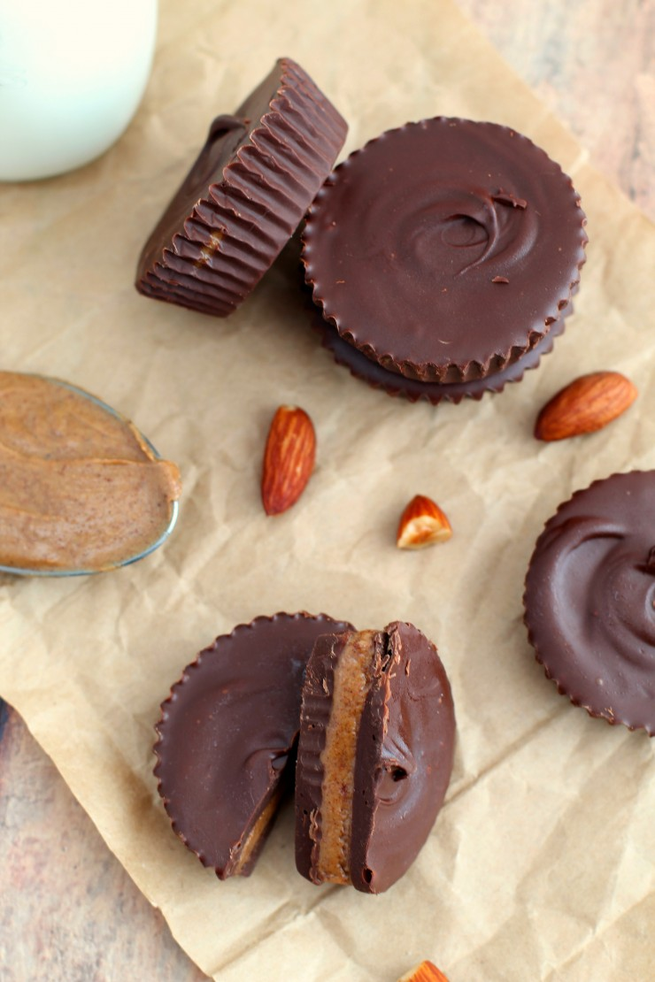 Looking for healthier alternative to a favourite sweet treat? Just give these Paleo, Vegan, Dairy Free and Gluten Free Almond Butter Cups a try!