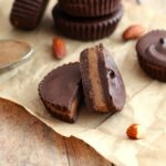 Paleo, Vegan, Dairy Free and Gluten Free Almond Butter Cups