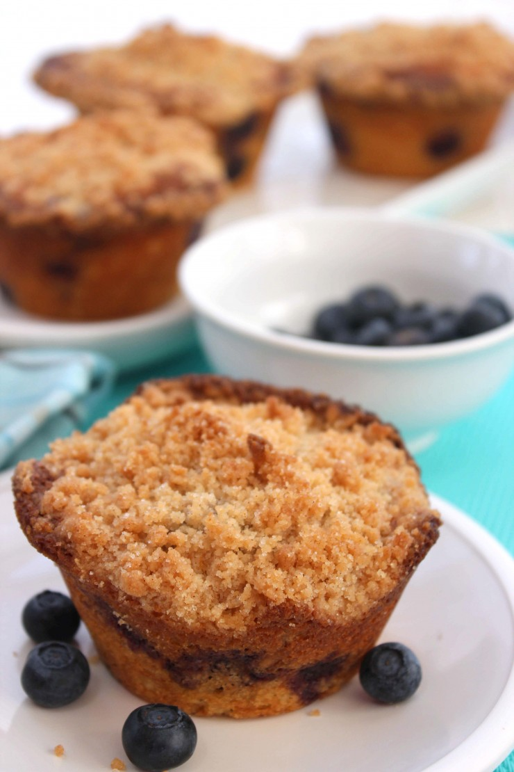 These classic blueberry muffins are a favourite year round.  Enjoy with a cup of hot coffee - just sit back and relax.