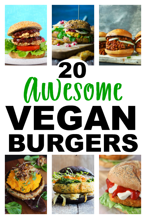 These 20 Awesome Vegan Burgers are a perfect choice for backyard BBQs - meat-eaters and vegans alike will enjoy these top picks!