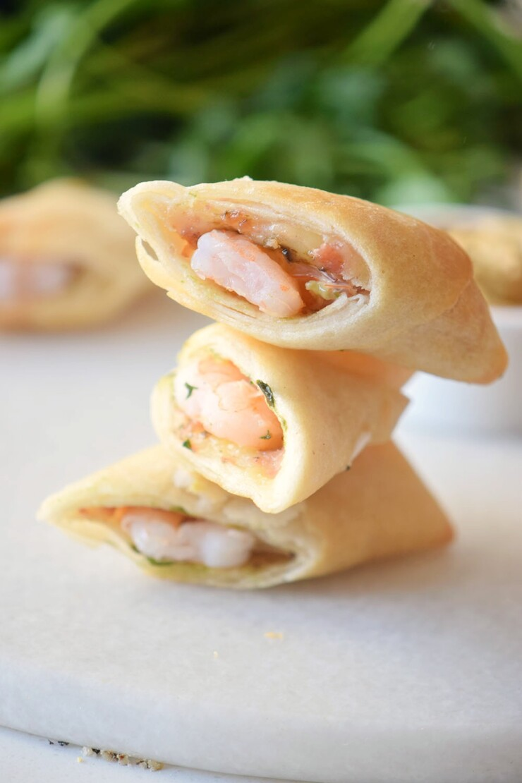 Crispy and savoury, these Shrimp Egg Rolls are a simple and flavourful appetizer.