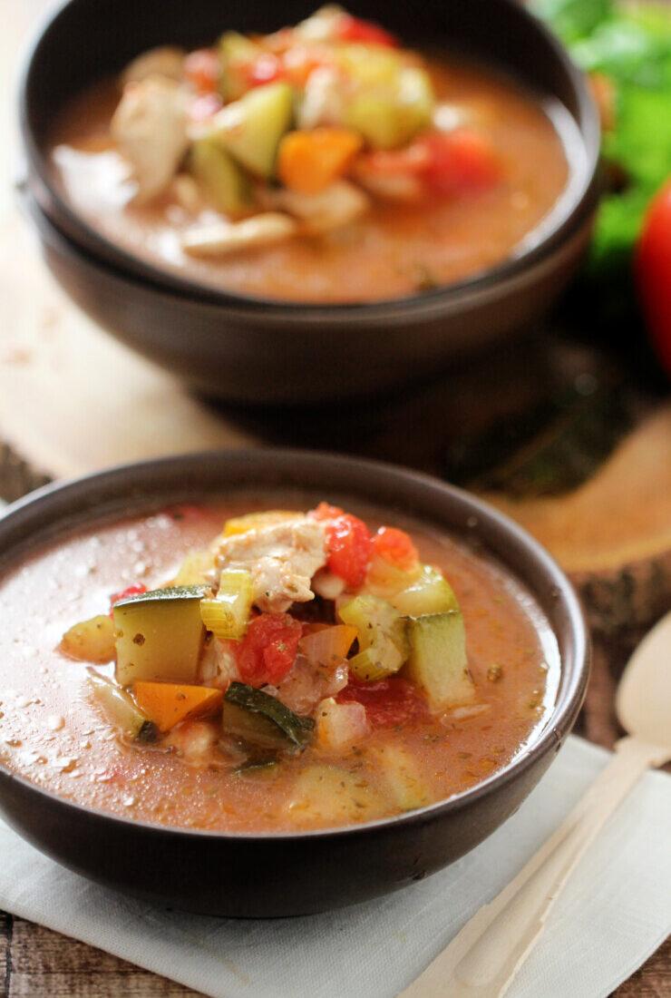 Low Carb Chicken Soup (Keto Friendly)