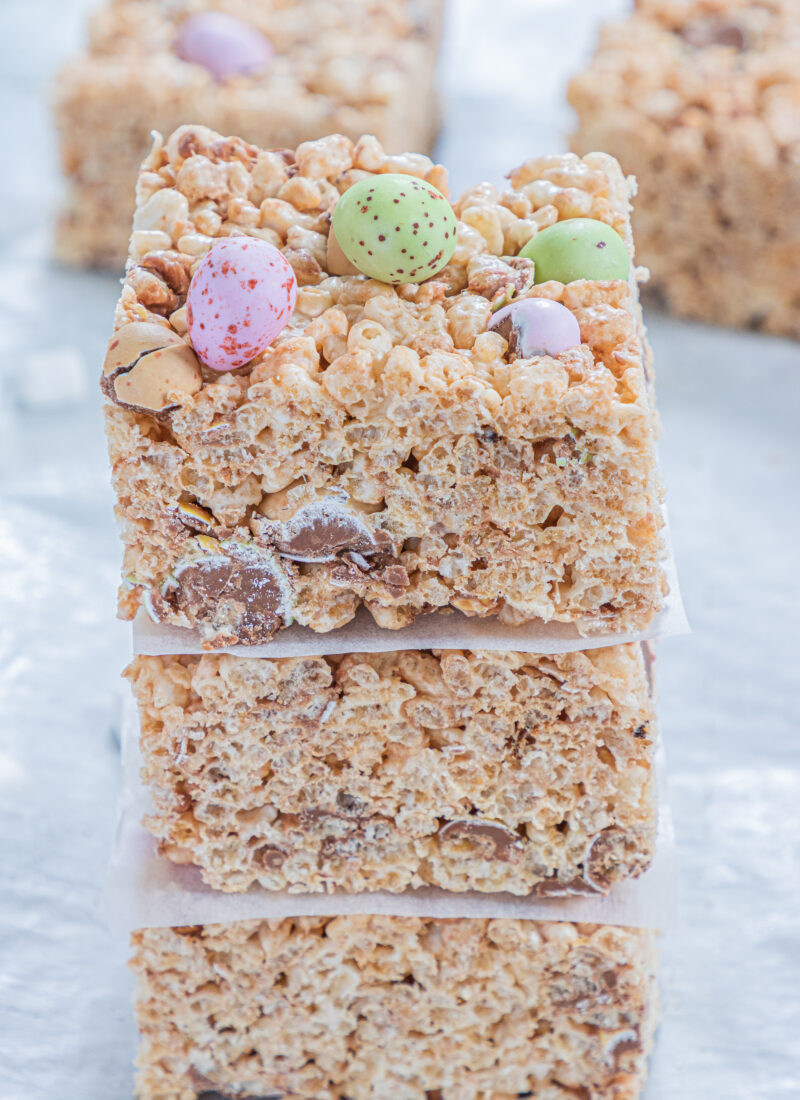 Mini Egg Rice Krispie Treats