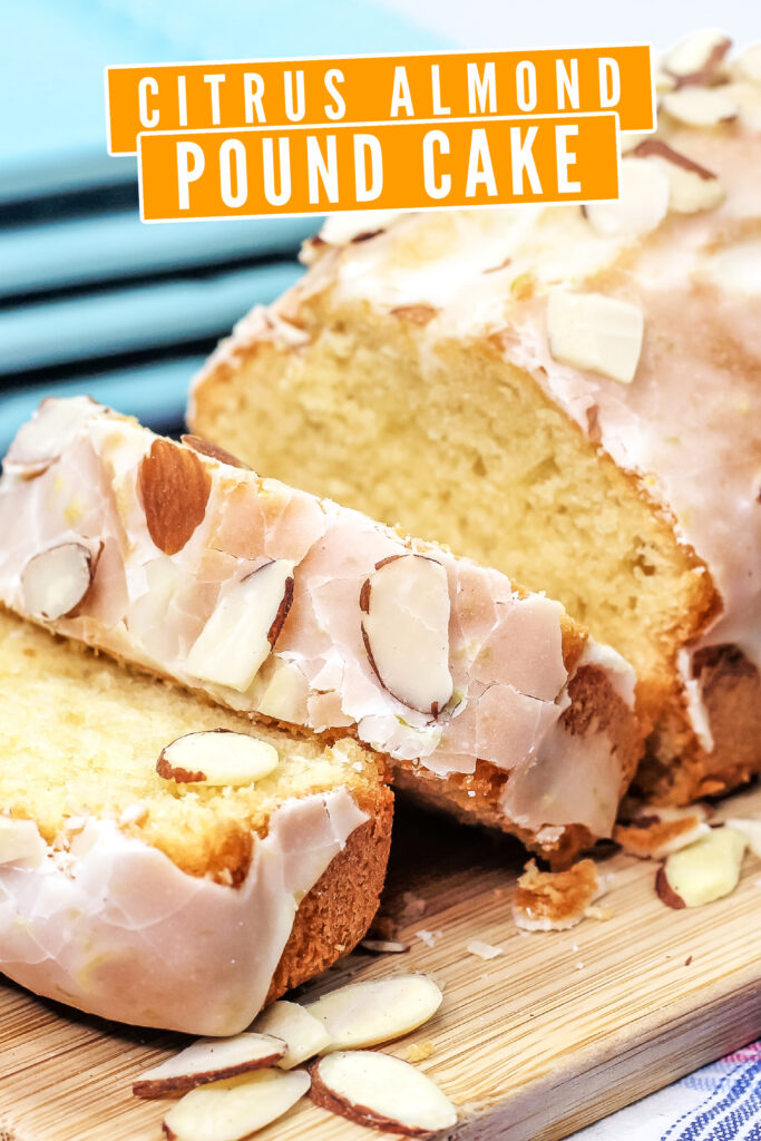 This Citrus Almond Pound Cake is a lovely lemon-lime twist on an almond loaf cake. It's an easy lemon quick bread recipe you're sure to love!