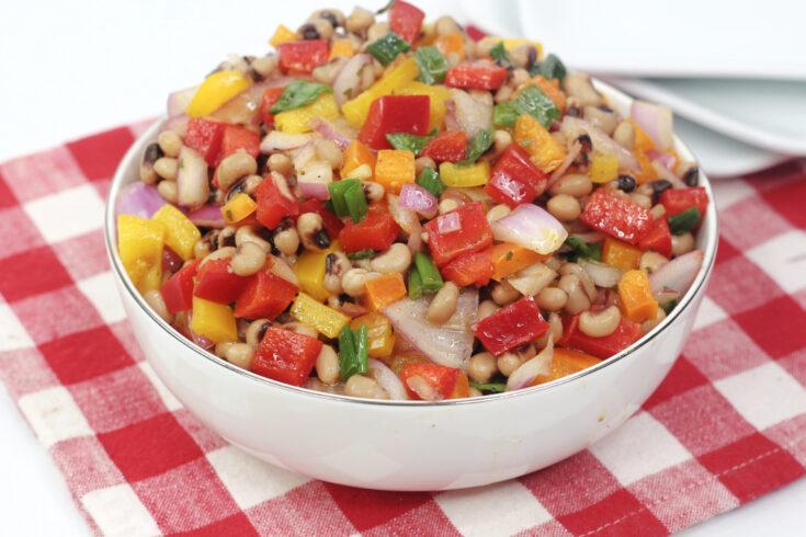Black Eyed Peas Bean Salad