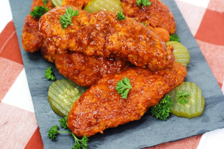 Air Fryer Nashville Hot Chicken