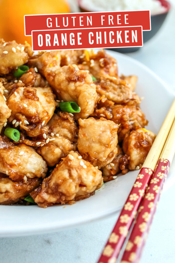 This Gluten Free Orange Chicken recipe is super easy and results in a delicious Panda Express Copycat meal.