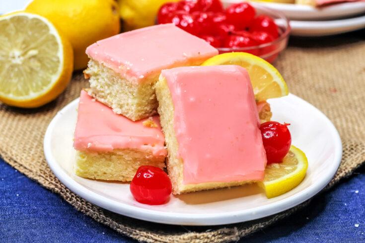 Cherry Lemonade Bars Recipe