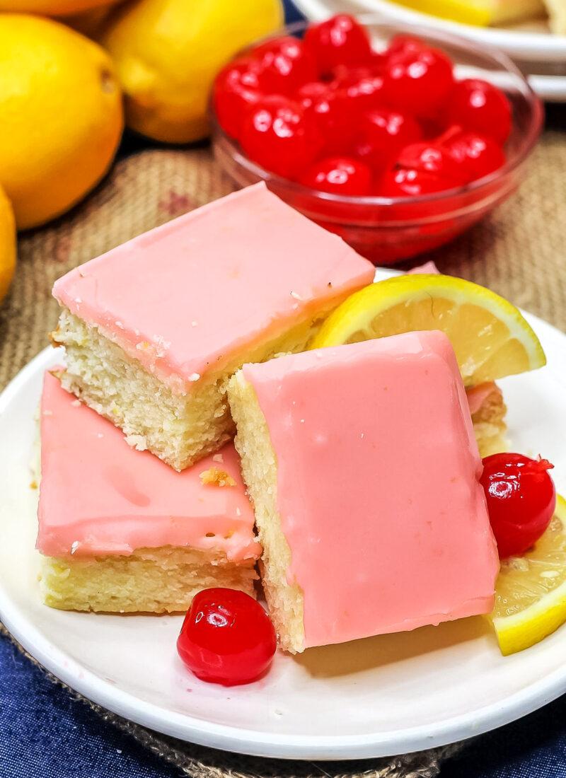 Easy Cherry Lemonade Bars Recipe