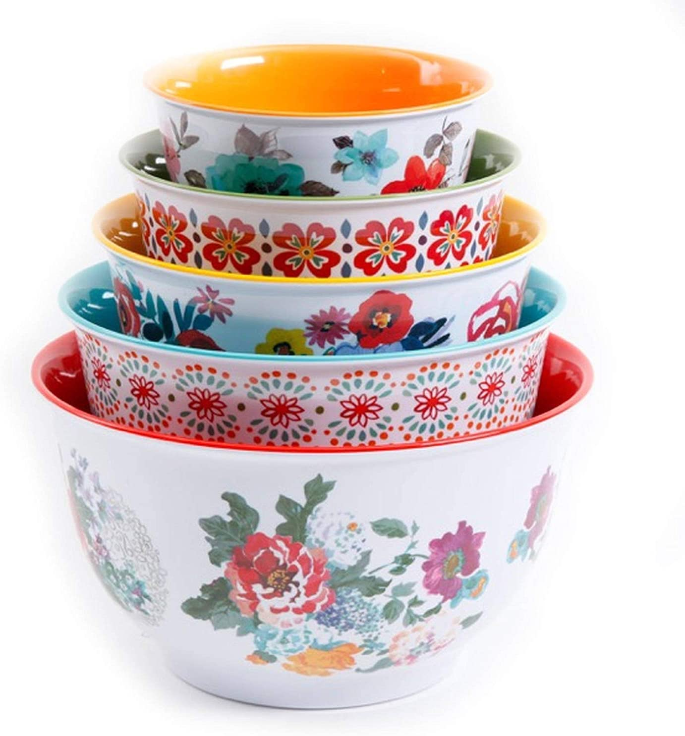 The Pioneer Woman Country Garden Nesting Mixing Bowl Set