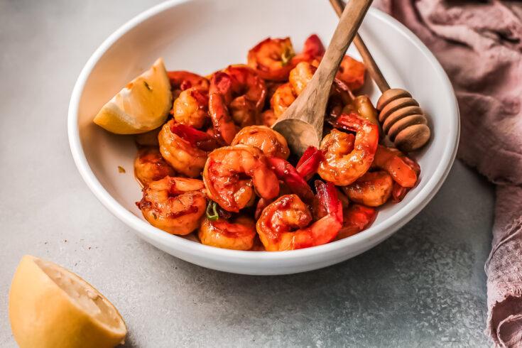 Honey Cajun Shrimp